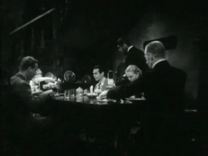 The unsettling yet funny dinner scene