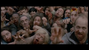 Shaun of teh dead- Zombie Mob