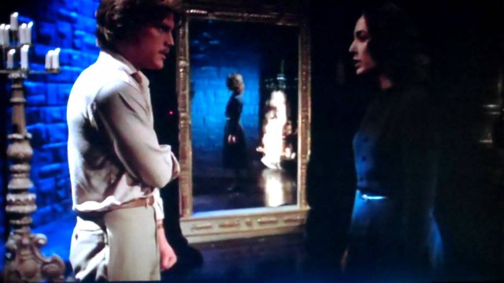 Mark (Leigh McCloskey) confronts Mater Tenebrarum (Veronica Lazar) in Inferno
