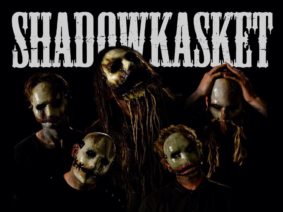 Metal band Shadowkasket in masks by MadMaskMan