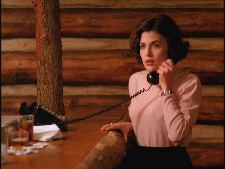 Twice the Audrey Horne!