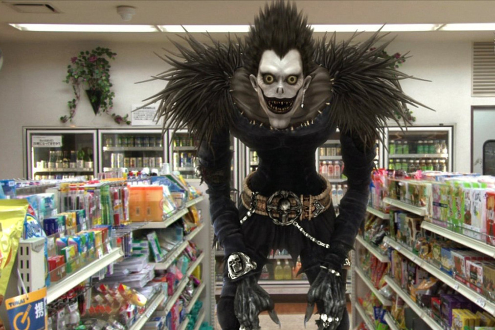 Live Action Ryuk.  Adam can do better--I hope!
