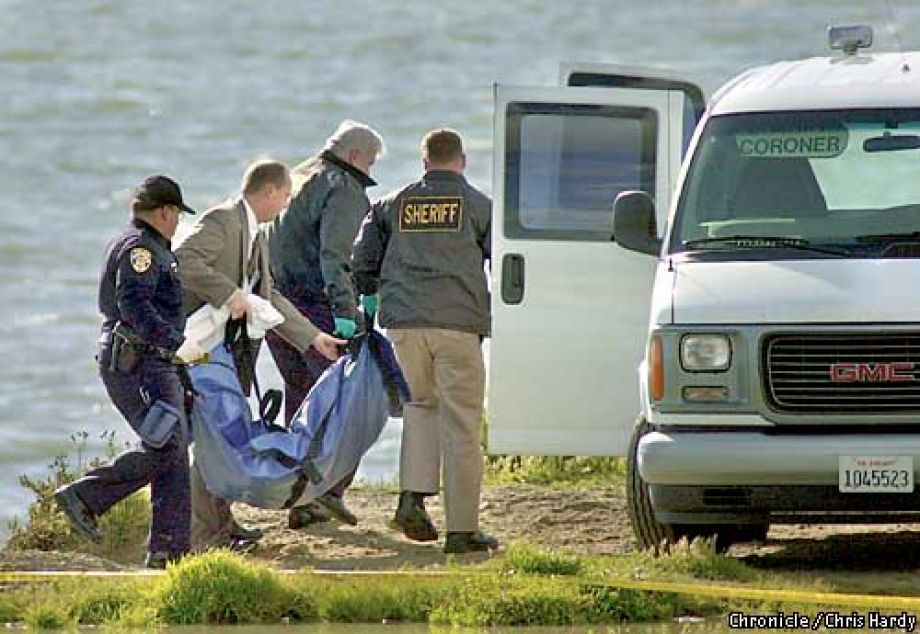 The recovery of Laci Peterson's body, 2003.
