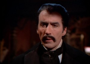 Playing the character closer to Bram Stoker's physical description in Count Dracula (1970)