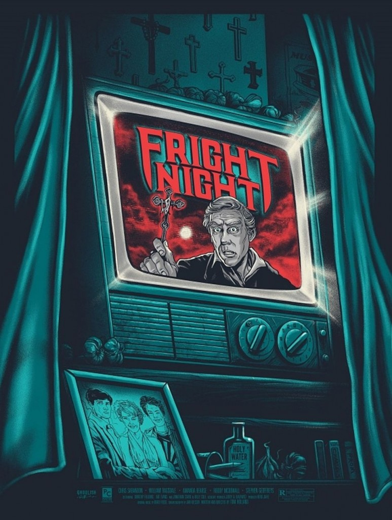 Artwork by Gary Pullin- Fright Night