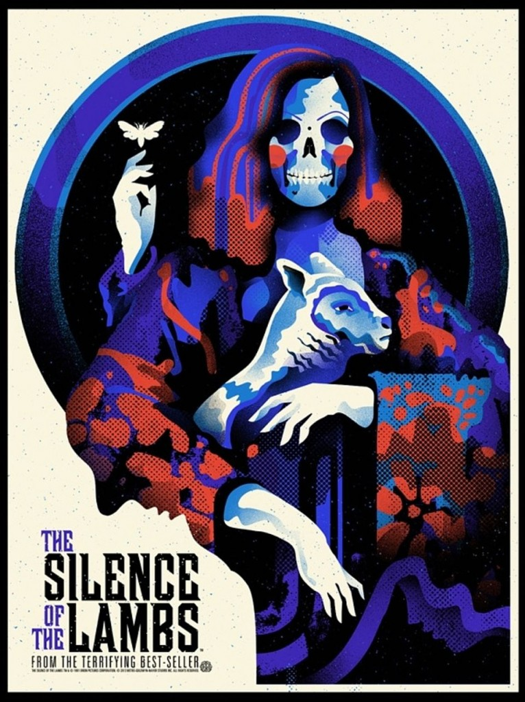 Artwork by We Buy Your Kids- Silence of the Lambs
