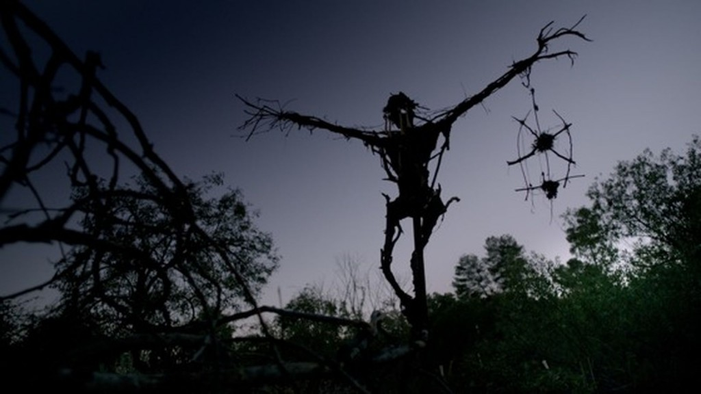 Pumpkinrot scarecrow in Mr. Jones (2013) directed by Karl Mueller