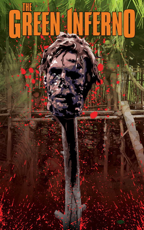 Roth signed limited edition Green Inferno posters featuring the art of TAZ