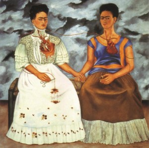 The Two Fridas, inspiration for Natum Corpus