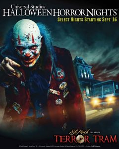 Eli Roth Presents Terror Tram at USH-HHN 2016