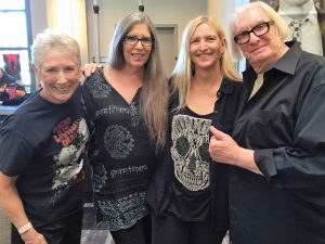 Los Angeles Zombie Girl Vicki with Judith O'Dea, Kyra Schon and Russ Streiner