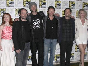 Cast of Supernatural at Comic Con 2016 ---Photo by Carla Van Wagoner