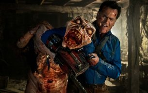 Interview at The Saturn Awards with Bruce Campbell from 'Ash vs. Evil Dead'