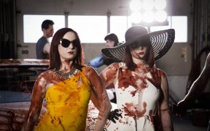 The Twisted Twins Need You to Bleed for Women in Horror Month